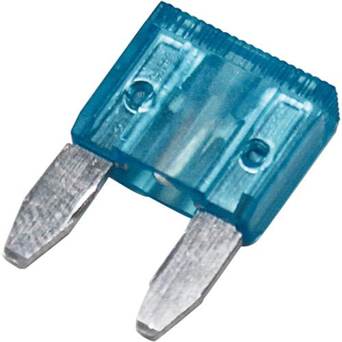 ミニ平型ヒューズ 15A ブルー